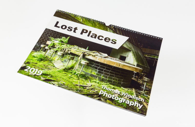 Charity Calendar – Lost Places 2019