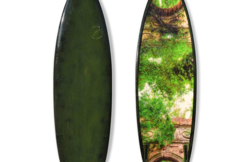 "Custom Shortboard ""Green Tide"" – Einzelstück"