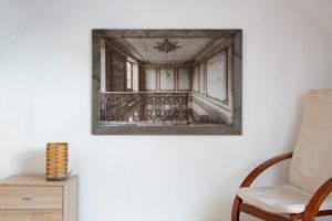 Fineart Print ~ starlight ~ 105x70 cm gerahmt an der Wand