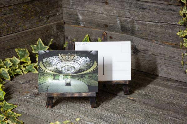 Lost Place Postkarte alien control