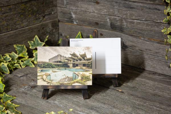 Lost Place Postkarte dead island
