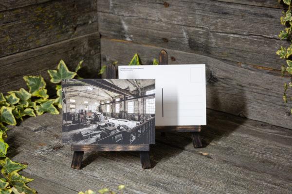 Lost Place Postkarte generator room