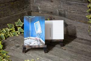 Lost Place Postkarte magic mirror