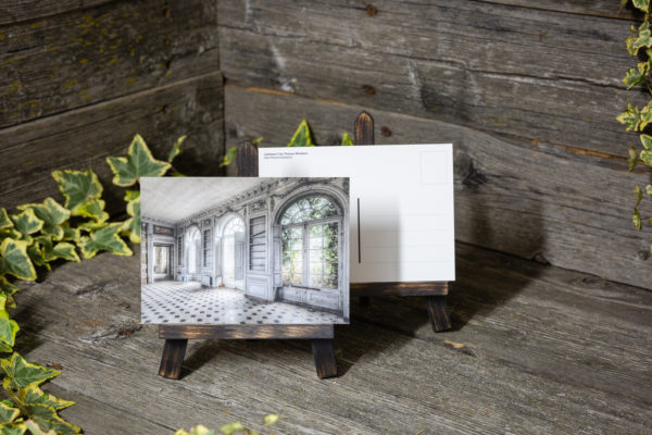 Lost Place Postkarte noblesse