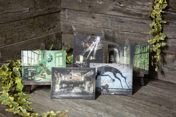 Lost Place Postkartenset asylums