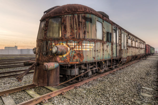 Lost Places Zug Orient Express